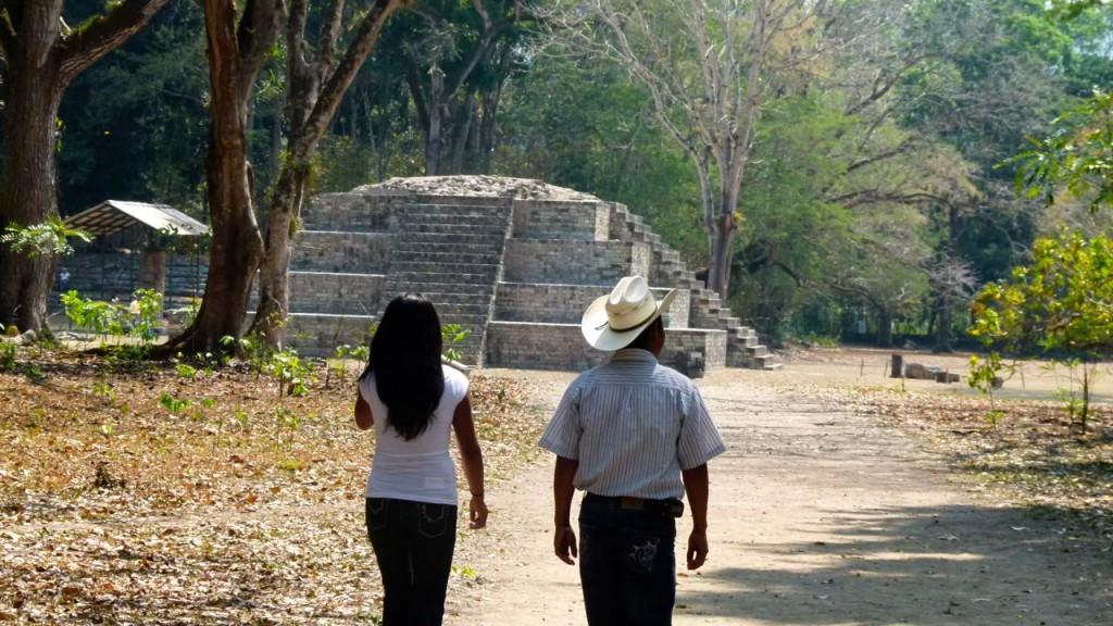 Mayatempel in Copan (Honduras)  / (c) Wim A.E. Jansen
