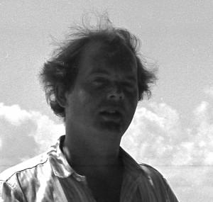 O autor, em 1983