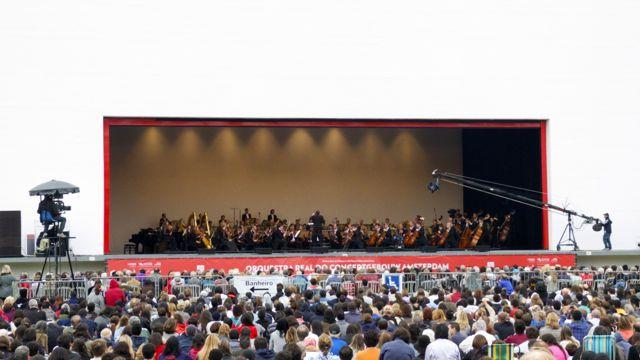 Podium Auditório Ibirapuera in Sao Paulo