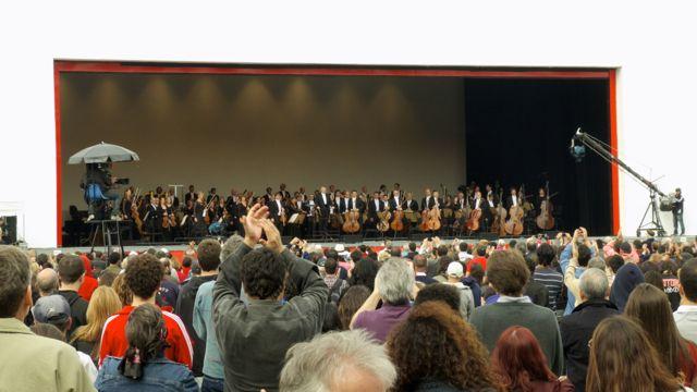 Concert KCO in Sao Paulo.