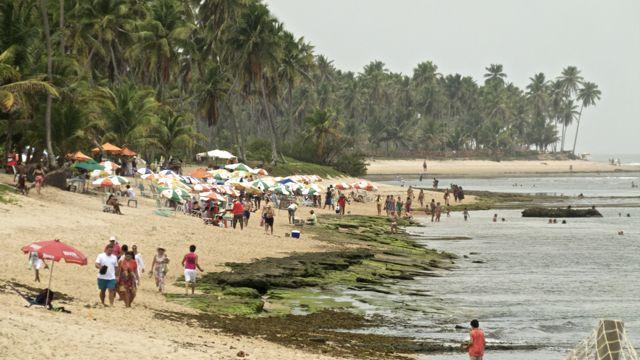 Strand van Praia do Forte