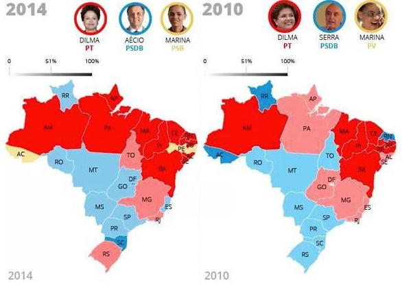 Uitslag per deelstaat